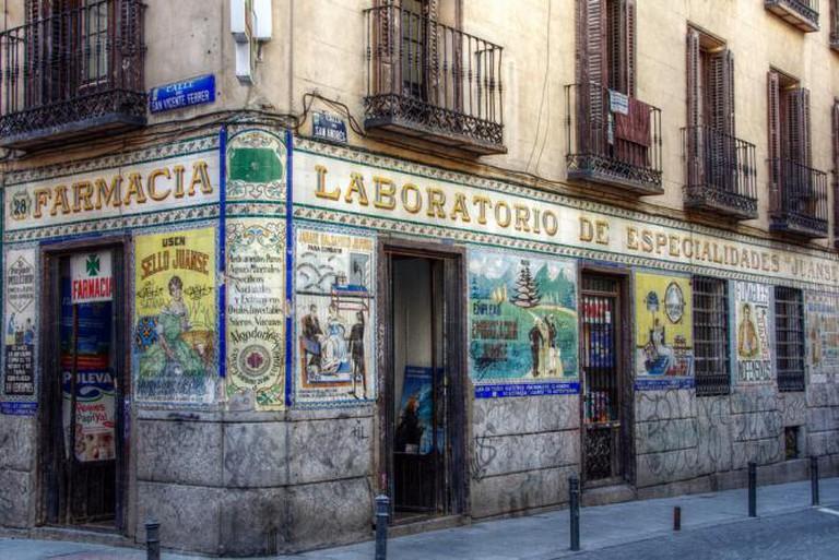 Antique pharmacy in Malasaña | © Felipe Gabaldón/Flickr