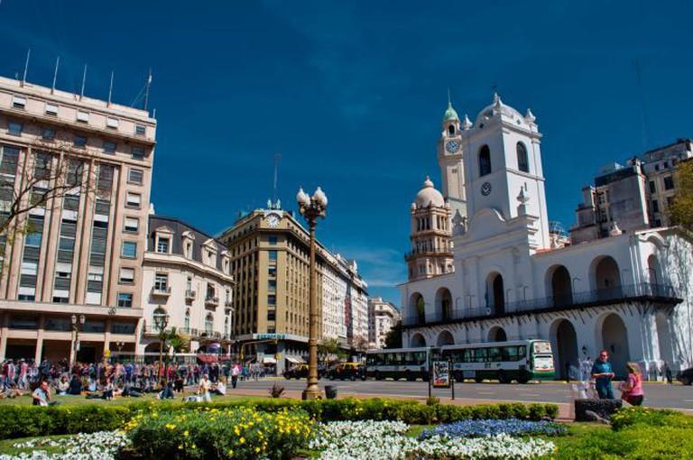 Plaza de Mayo © David Almeida/Flickr