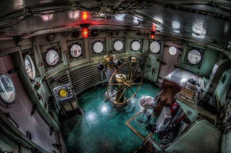 Interior of a Ship, Historic Ships