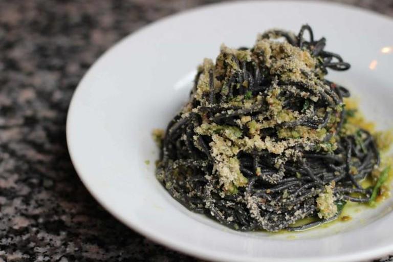 Squid Ink Spaghetti