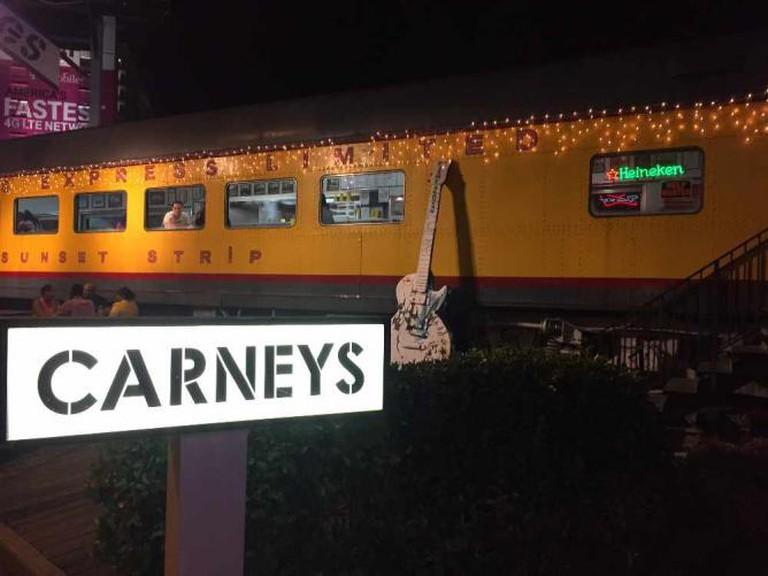 Carney's Train Sunset Strip