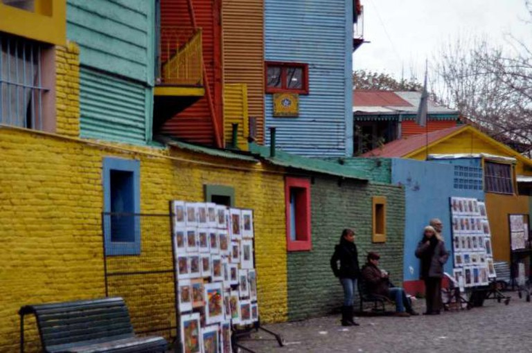 La Boca | Courtesy of Madeleine Bazil