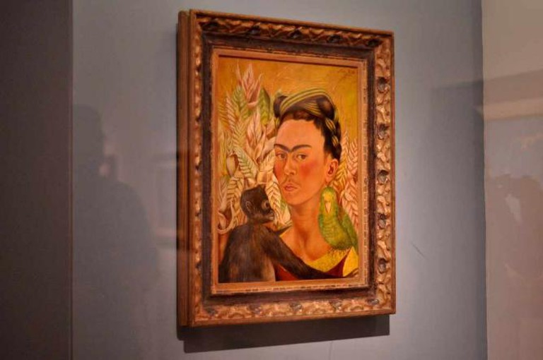 Frida Kahlo at MALBA | Courtesy of Madeleine Bazil