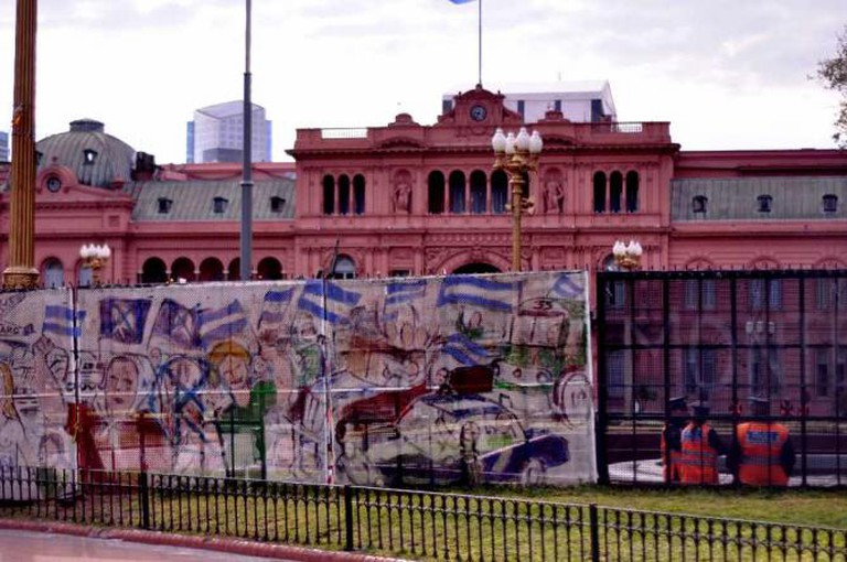 La Casa Rosada | Courtesy of Madeleine Bazil