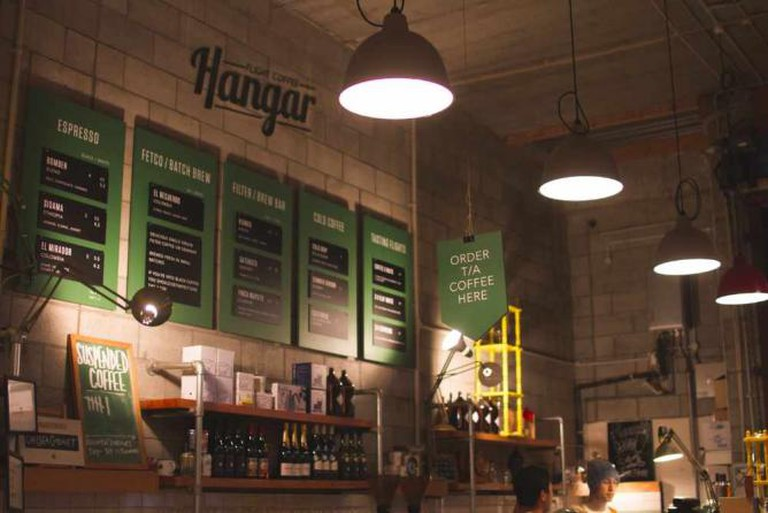 Hanger Café | Image courtesy of Flight Coffee