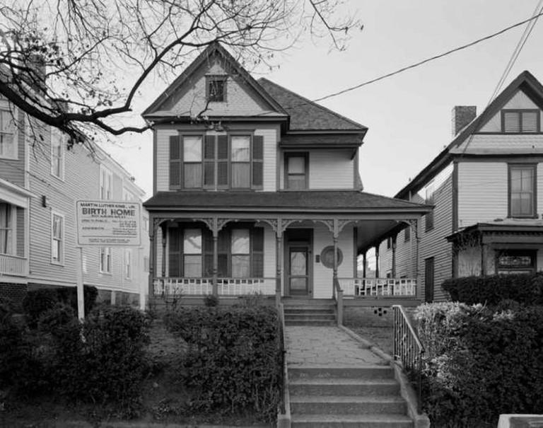 MLK, Jr. Birth Home | © Eli Pousson/Flickr