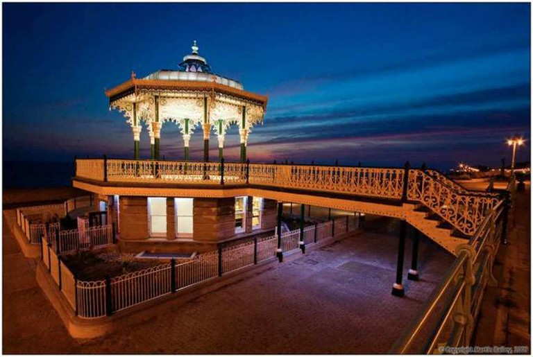 Bandstand by night | © Martin /Flickr