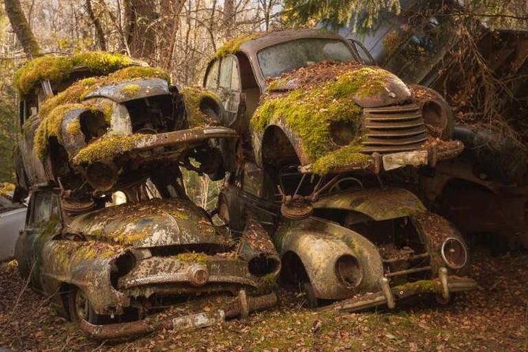 Car Graveyard, Sweden| © Martino Zegwaard