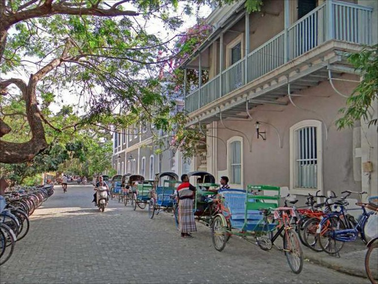 La rue François Martin (Pondichéry, Inde) | © Jean-Pierre Dalbéra /Flickr