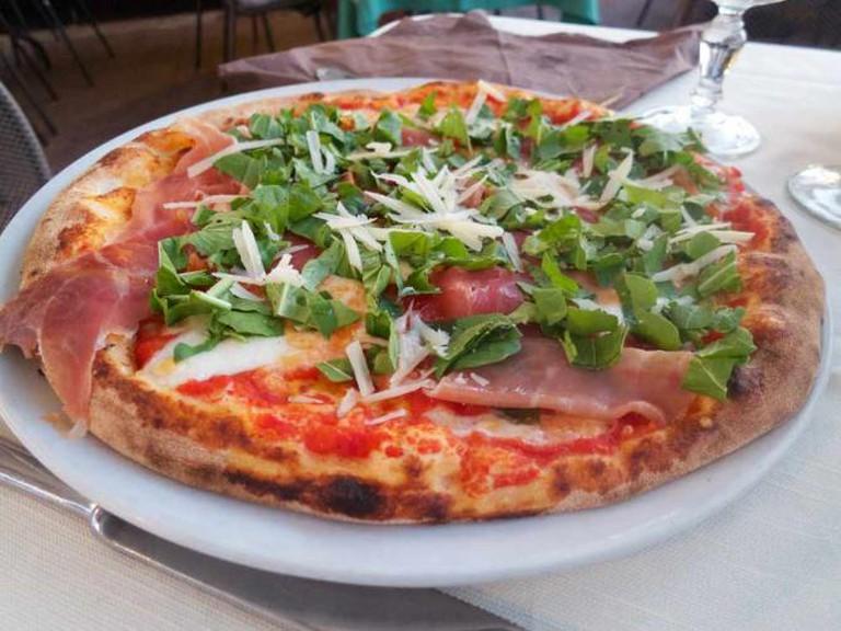 Pizza in Sicily