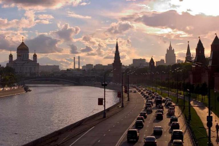 The Kremlin Embankment | © Dmitry Azovtsev/WikiCommons