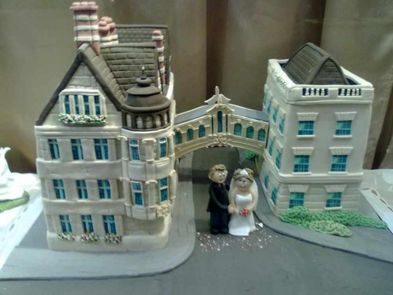 A Cake Representation of the Famed Bridge of Sighs | © The Cake Shop/T. Heuzé