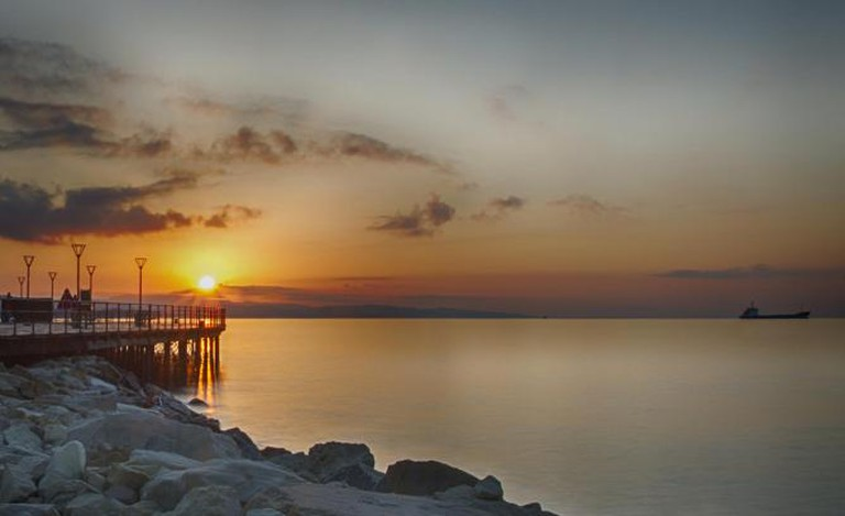 Sunrise in Limassol