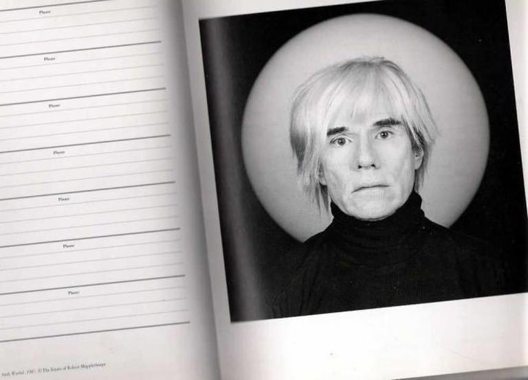 Photograph of Andy Warhol | © Gisela Giardino/Flickr