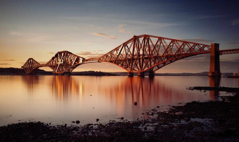Seven years in the making, Forth Rail Bridge
