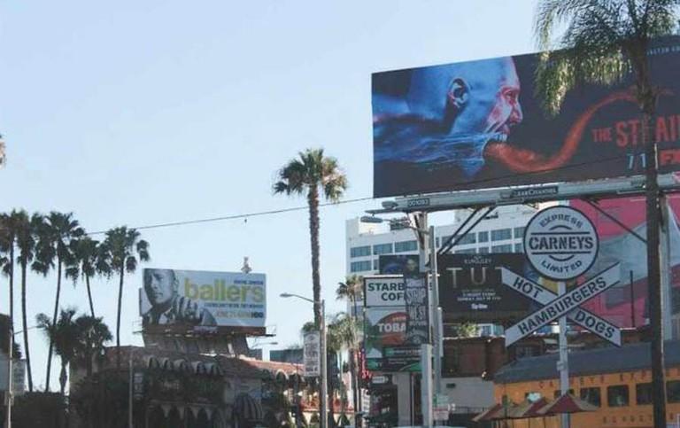 Sunset Strip Billboards | © Neda Kerendian