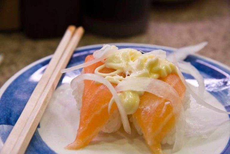 Salmon-onion | ©Chris Gladis/Flickr