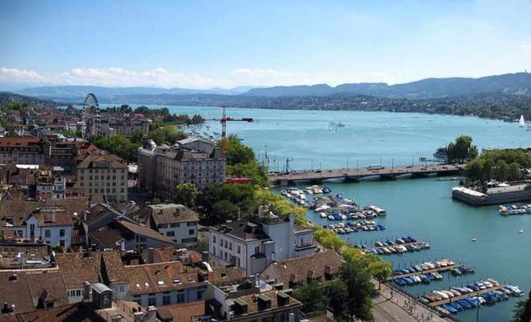 View over Zürich | © Andrew Bossi/WikiCommons