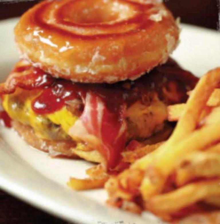Krispy Kreme Burger | Courtesy of Parma Tavern