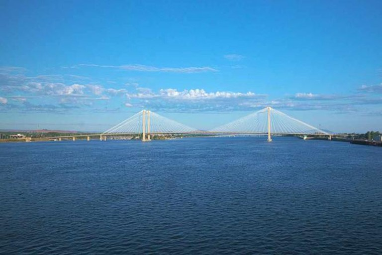 Cable Bridge in Pasco | © Michael Hicks/Flickr
