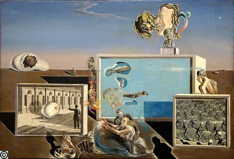 Illumined Pleasures, Salvador Dalí