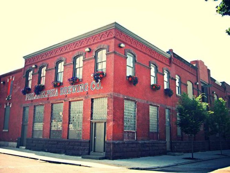 The Philadelphia Brewing Company functions from an old warehouse in Fishtown, Philadelphia.