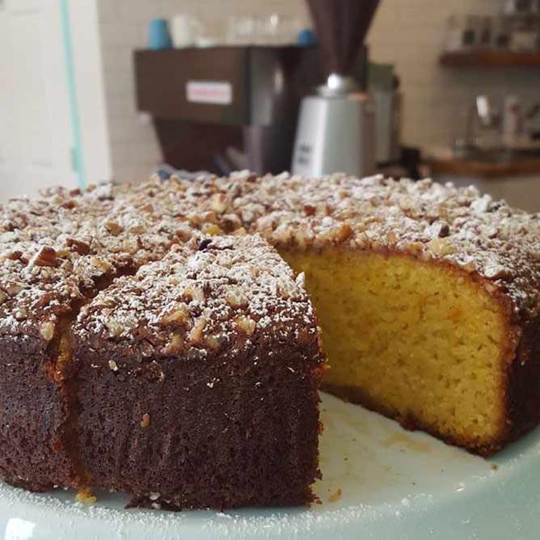 Almond Cake | © Almond Butterfly Bakery, Inc.