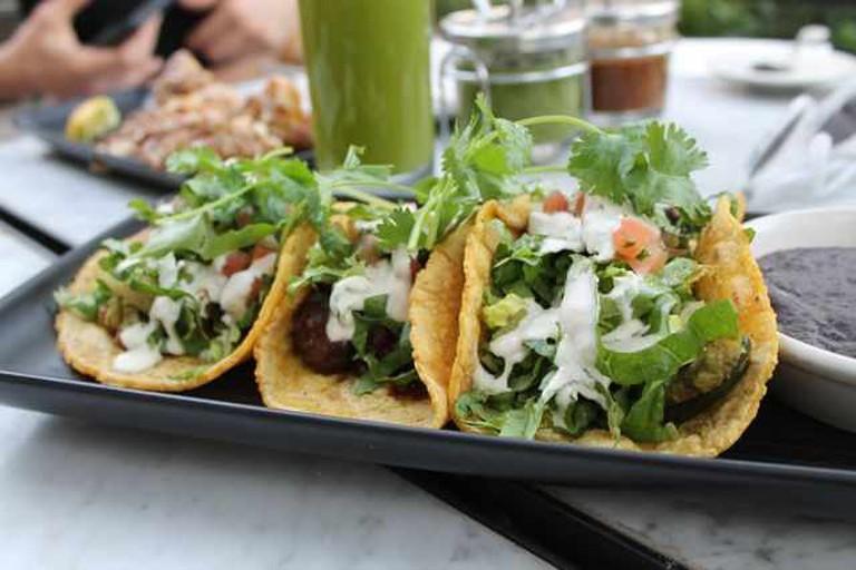 Gracias Madre's tacos   ©Nicole Cogan