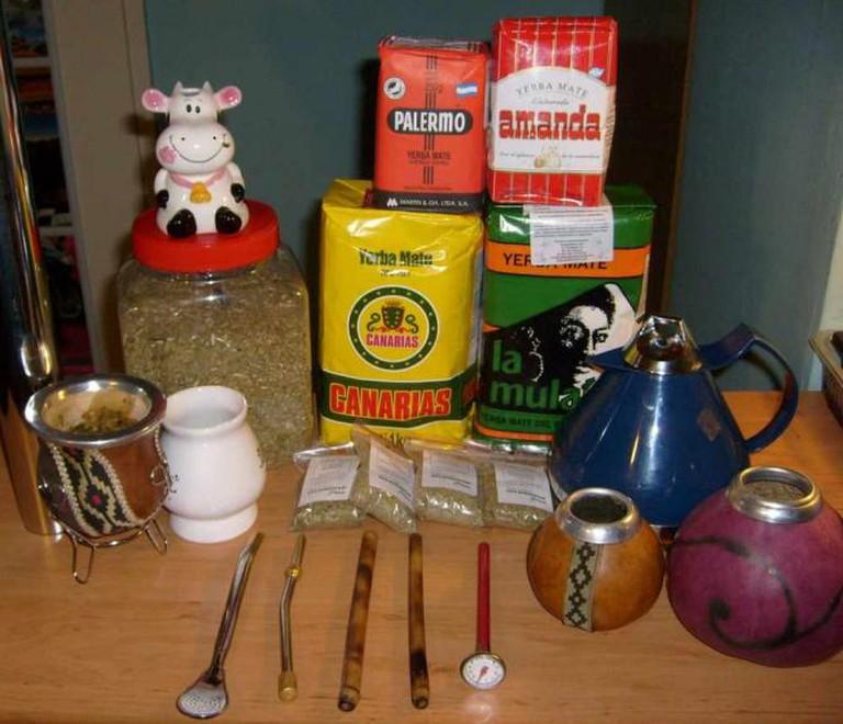 Yerba Mate tea set