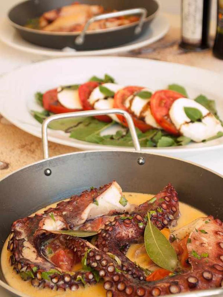 Octopus dish | Courtesy of Kritikos