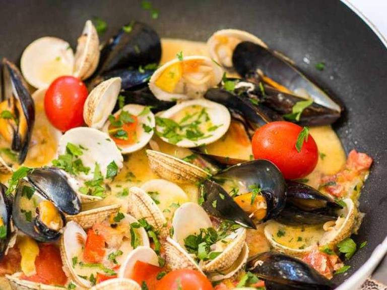 Seafood dish | Courtesy of Kritikos