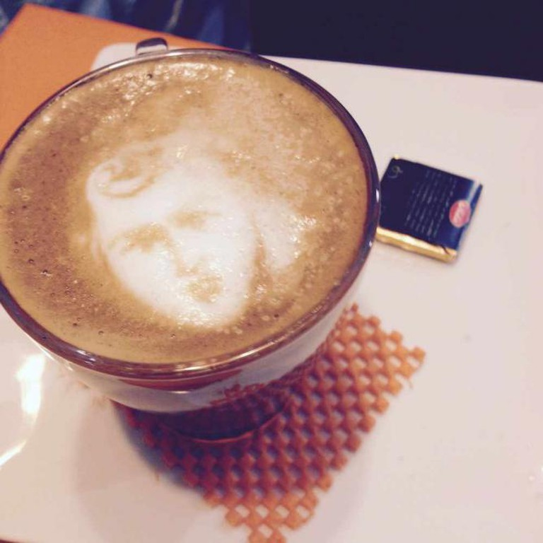 Tehran Latte artisanry | © Tehran Cafes/Flickr