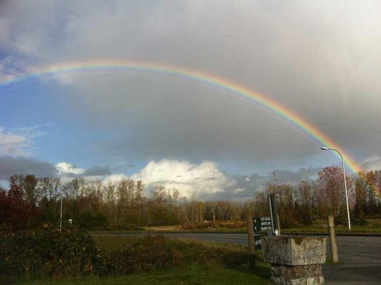 Rainbow in Marysville | © Chase N./Flickr