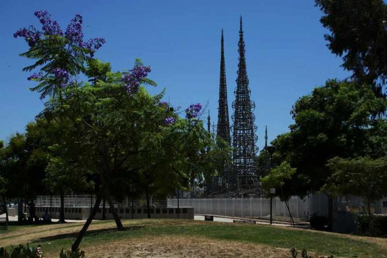 Simon Rodia's Watts Towers in Los Angeles, CA | © Maëlick/Flickr