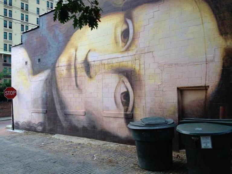 Short North Murals, Mona Lisa by Brian Clemons in Columbus | © Bob Hall/Flickr