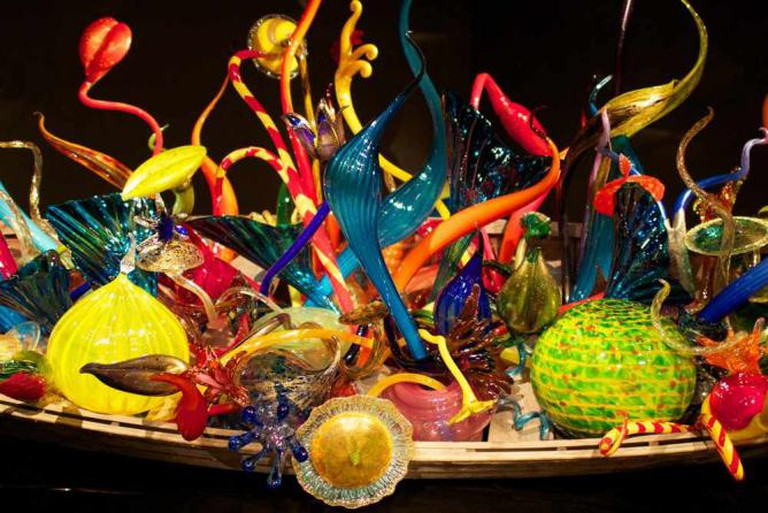 Detail from Chihuly Garden and Glass, Seattle Center, Seattle, WA | © hj_west/Flickr