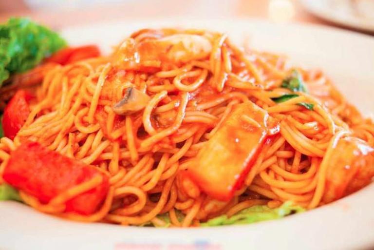 Seafood Spaghetti | © SodanieChea/Flickr