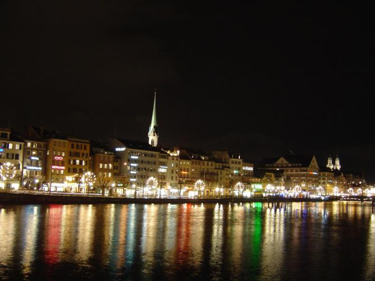 Scenic Zürich by night I © Xcaballe/WikiCommons