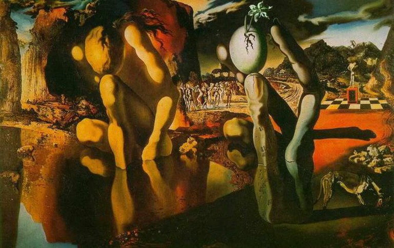 Metamorphosis of Narcissus by Salvador Dali, 1937 | © Centralasian Flickr