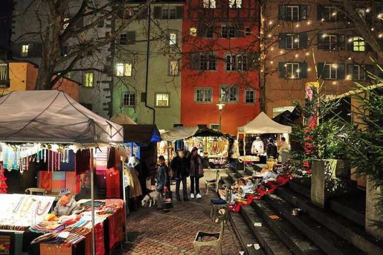 Rosenhof Market I © Roland zh/WikiCommons