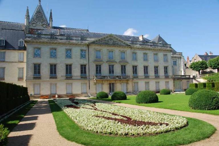 Garden at Musée des Beaux-Arts de Tours | © Casper Moller/WikiCommons