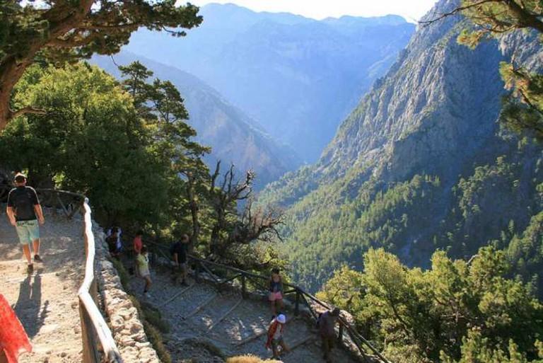 Samaria Gorge | © Lapplaender/WikiCommons