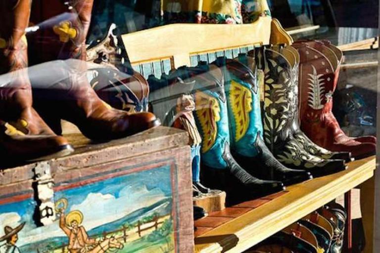 Boots at Santa Fe Shop