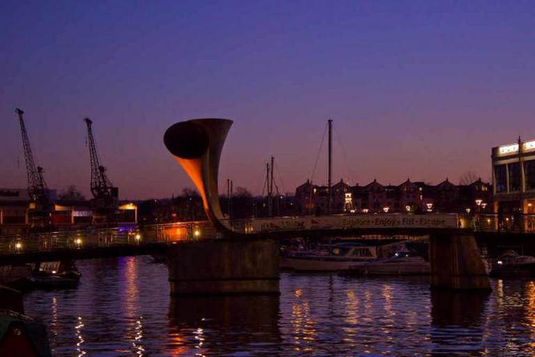 The quays in Bristol | © Ubaían/Flickr