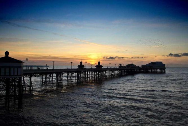 Blackpool's stunning North Pier at sunset | © Michael D Beckwith/Flickr