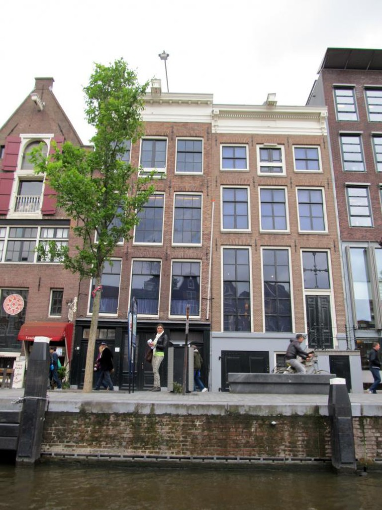 Anne Frank House from Canal l