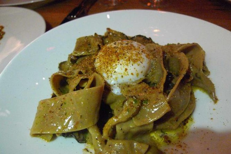Fresh pasta at Menashe's Bestia | © Ron Dollete/Flickr