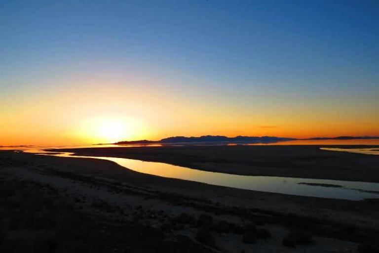 Sunset on The Great Salt Lake | © Bryant Olsen/Flickr