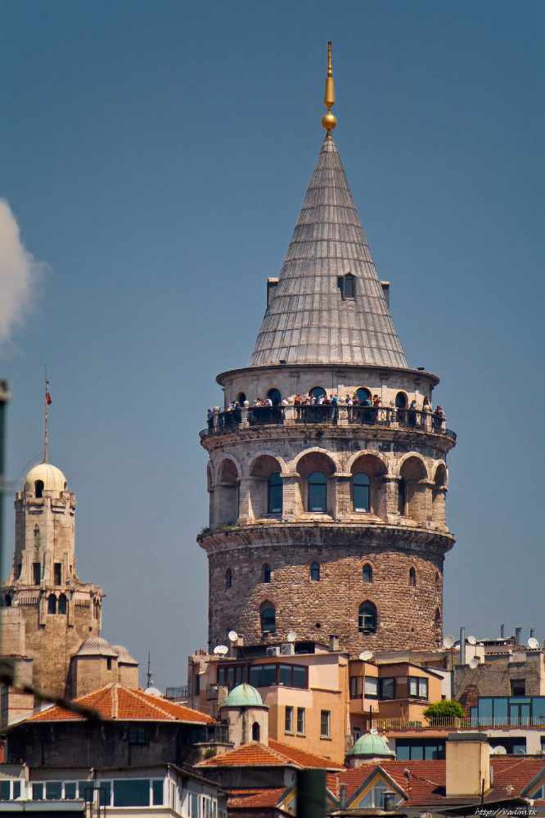 Galata Tower | © vadim.tk/WikiCommons