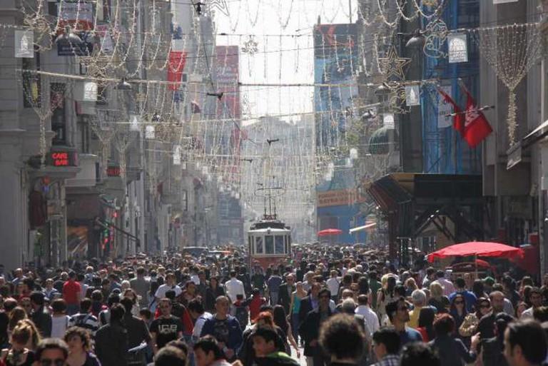 Istiklal Street | © Zumrasha/WikiCommons